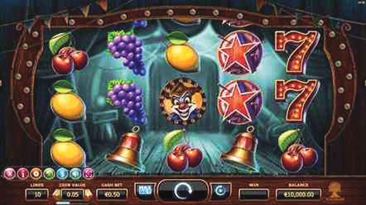 Yggdrasil, Wicked Circus online slot
