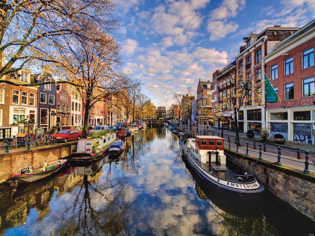 Dutch Amsterdam Parliament