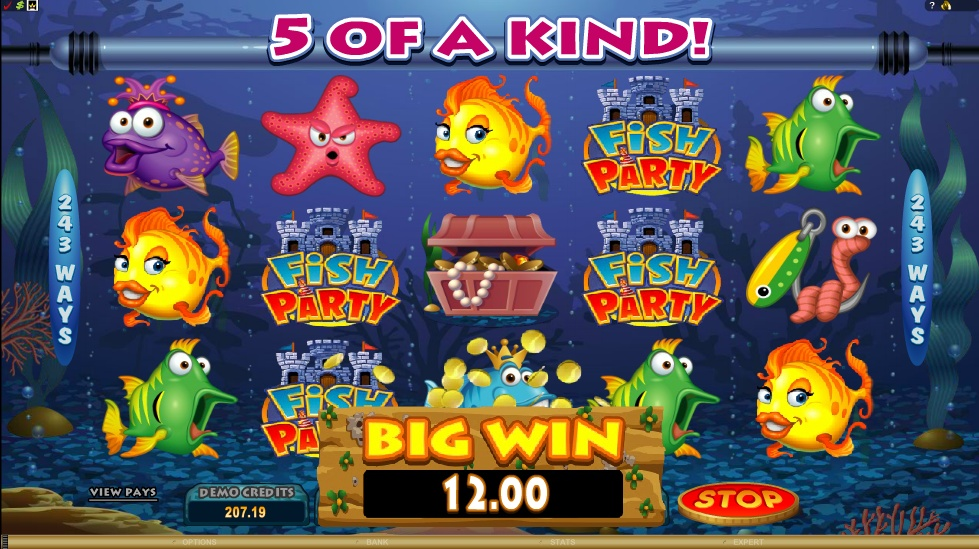 Fish Party Microgaming