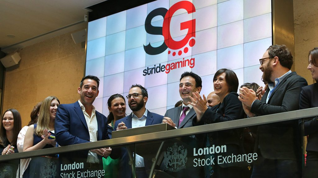 Betting Business Stride Gaming aquisiton