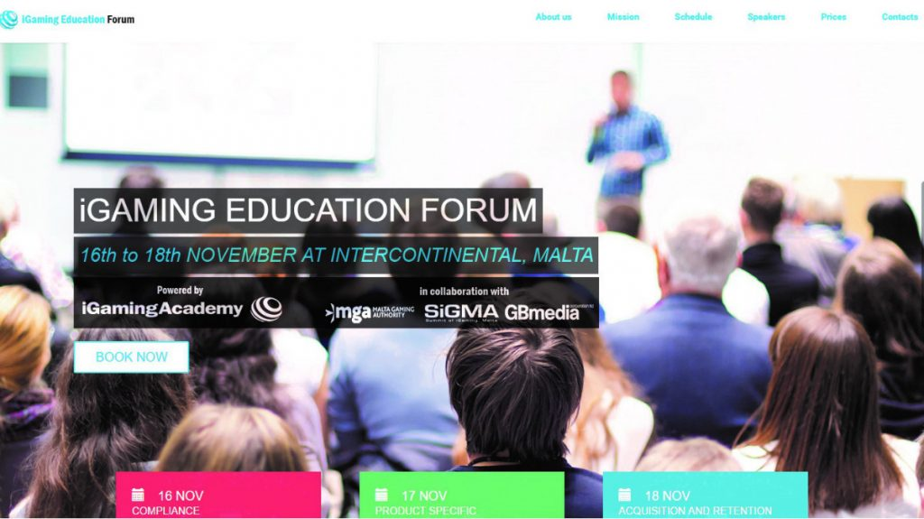 Casino Review, iGaming Education Forum, iGaming, Jaime Debono, Malta