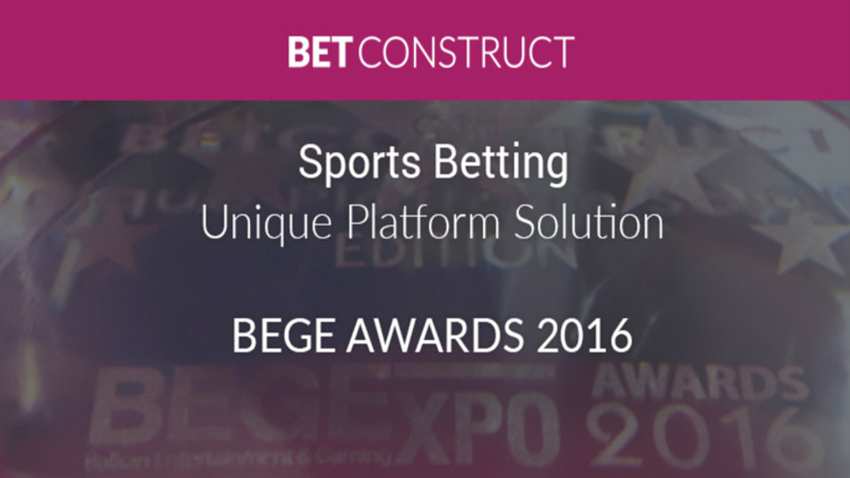Betting Business BetConstruct BEGE