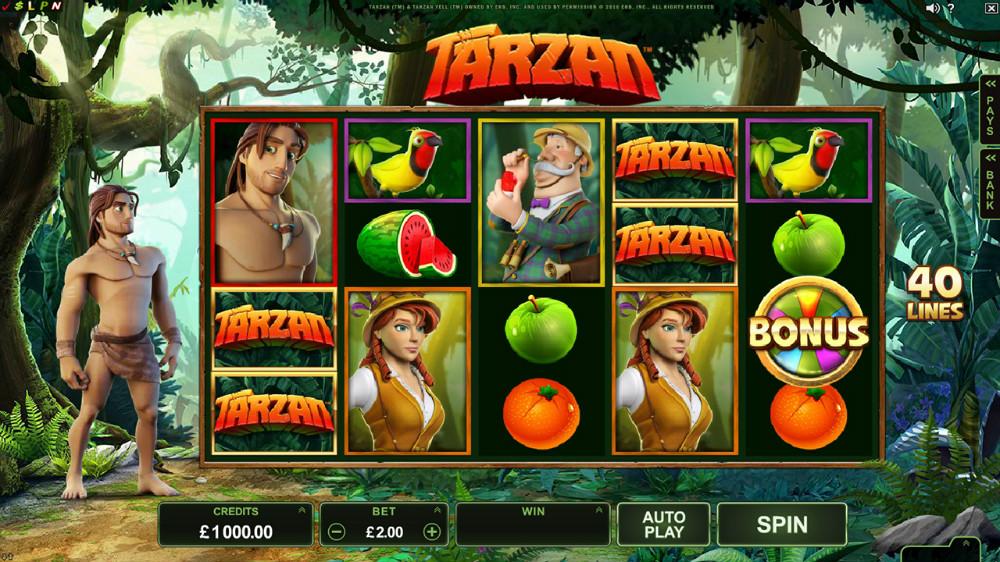 Betting Business Microgaming Tarzan