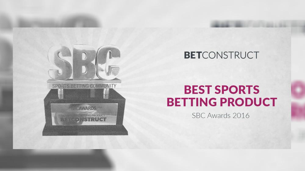 Betting Business SBC Award BetConstruct