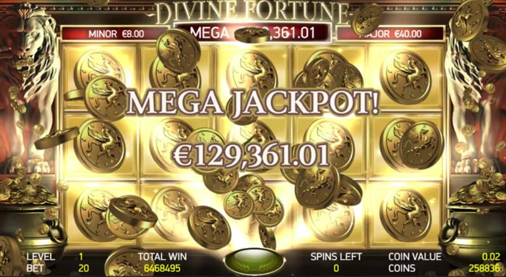 Betting Business NetEnt Divine