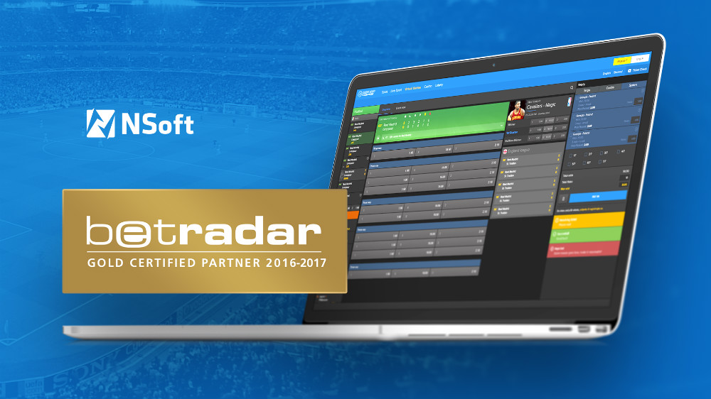 Betting Business NSoft Betradar Gold Certified Partner