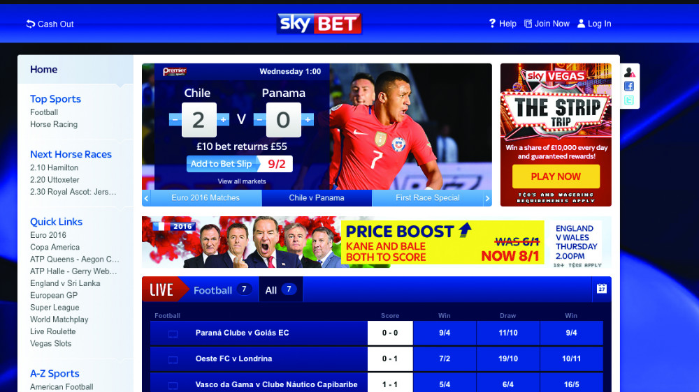 Instant payouts on card payment becomes reality for Sky Bet players