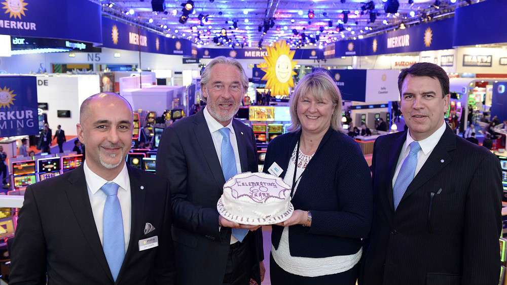 Betting Business ICE Totally Gaming - ICE-ing on the cake for show's long-term exhibitors - Merkur