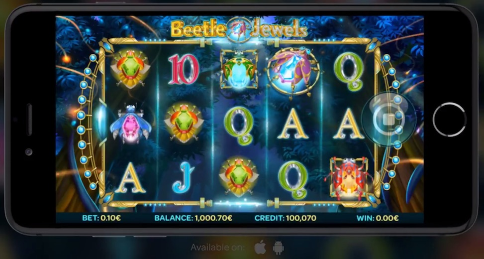 Betting Business - Beetle Jewels iSoftBet