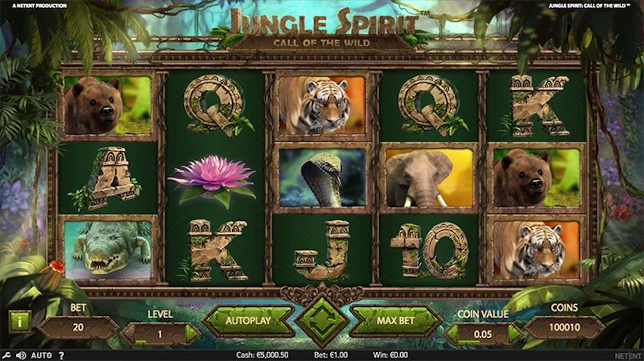 Betting Business - NetEnt Jungle Spirit video slot