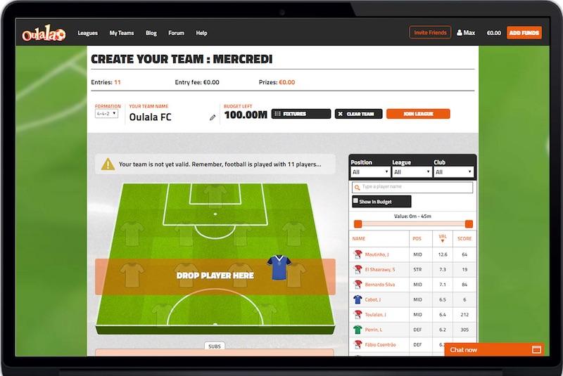 Betting Business - Oulala Malta Fantasy Sports B2B UK Market