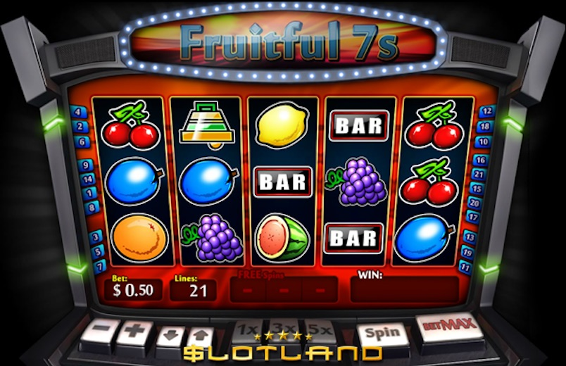 Betting Business - Slotland Fruit machine