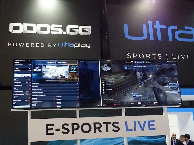 Betting bUsiness - UltraPlay sports betting eSports Glory