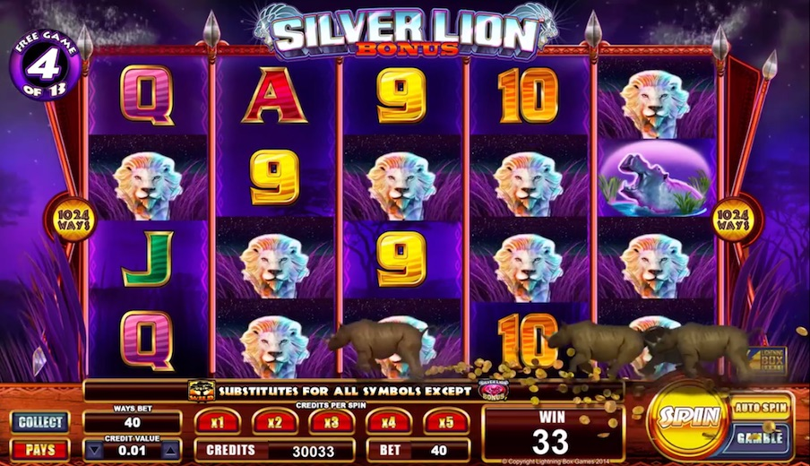 BB - Silver Lion Lightning Box William Hill