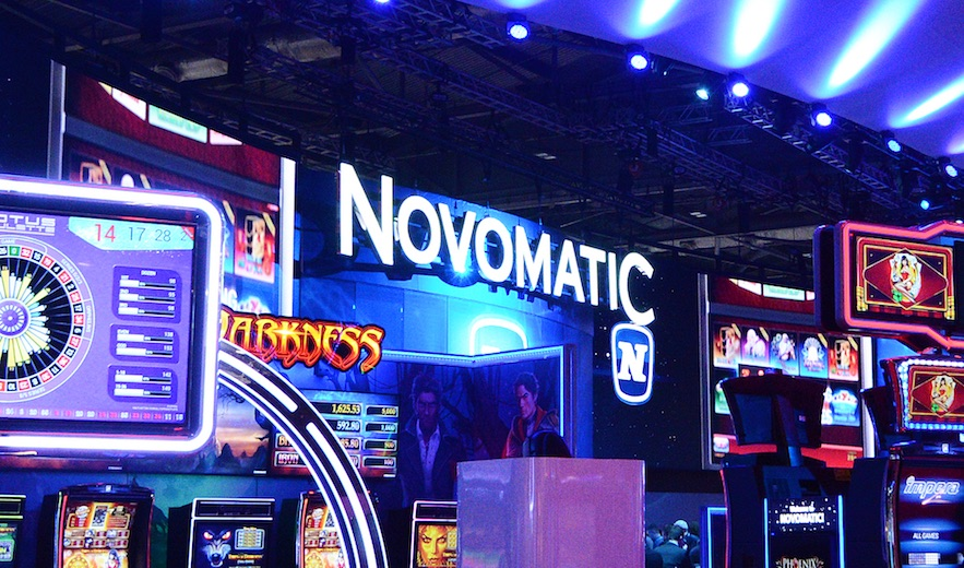 Casino Review - NOVOMATIC AG Revenues event arena Sportradar