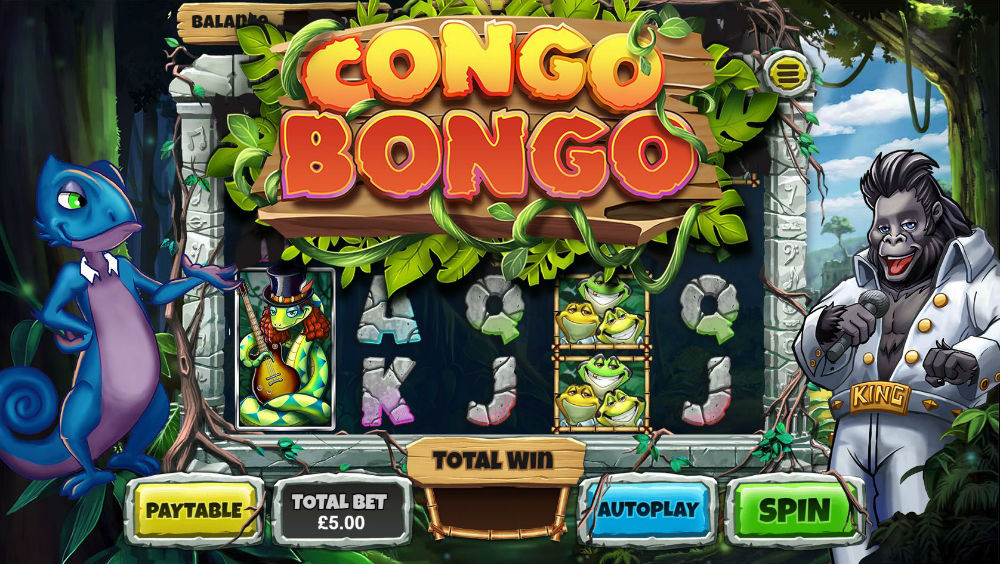 Betting Business Congo Bongo GAMEIOM