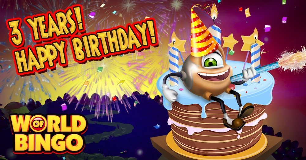 BBi - World of Bingo Zitro third anniversary