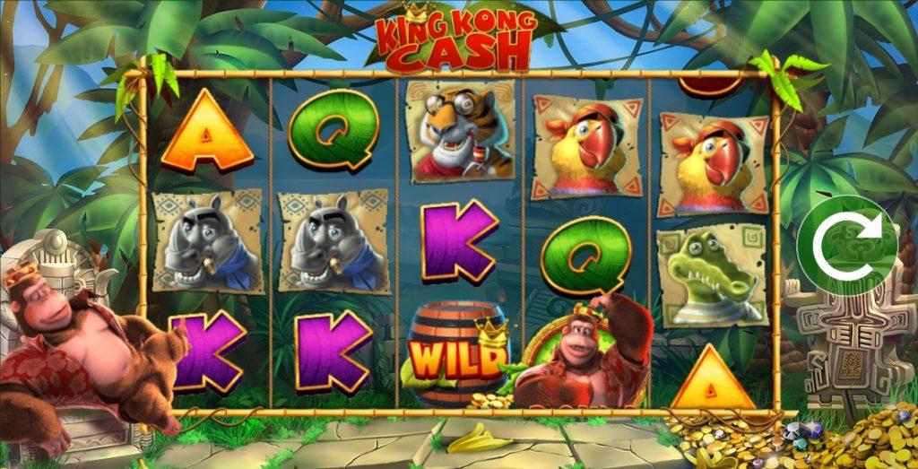 ICR - LeoVegas blueprint Gaming King Kong Cash