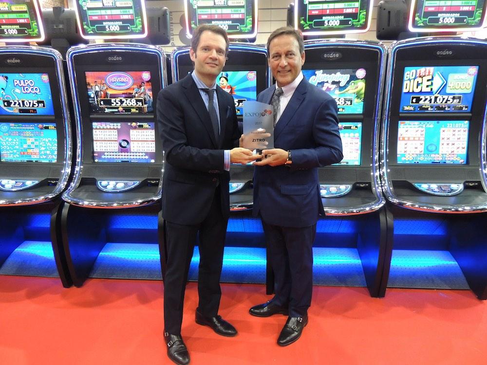 BBi - EXPOJOC award Zitro