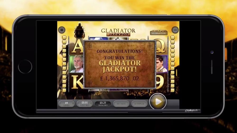 BBi - Gladiator jackpot