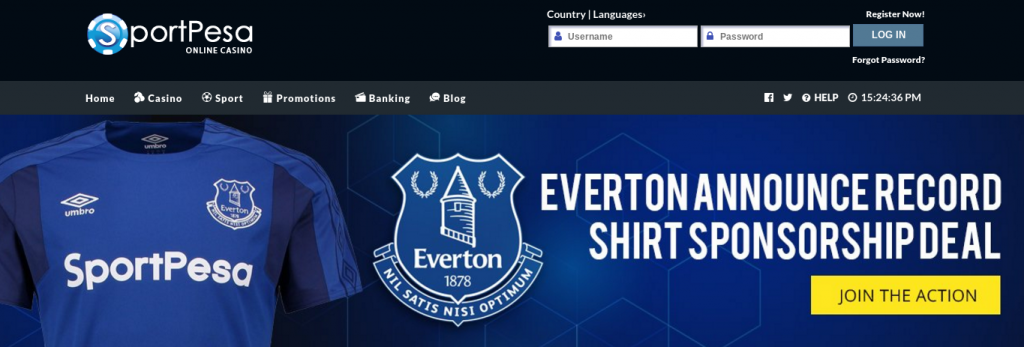 sportpesa website