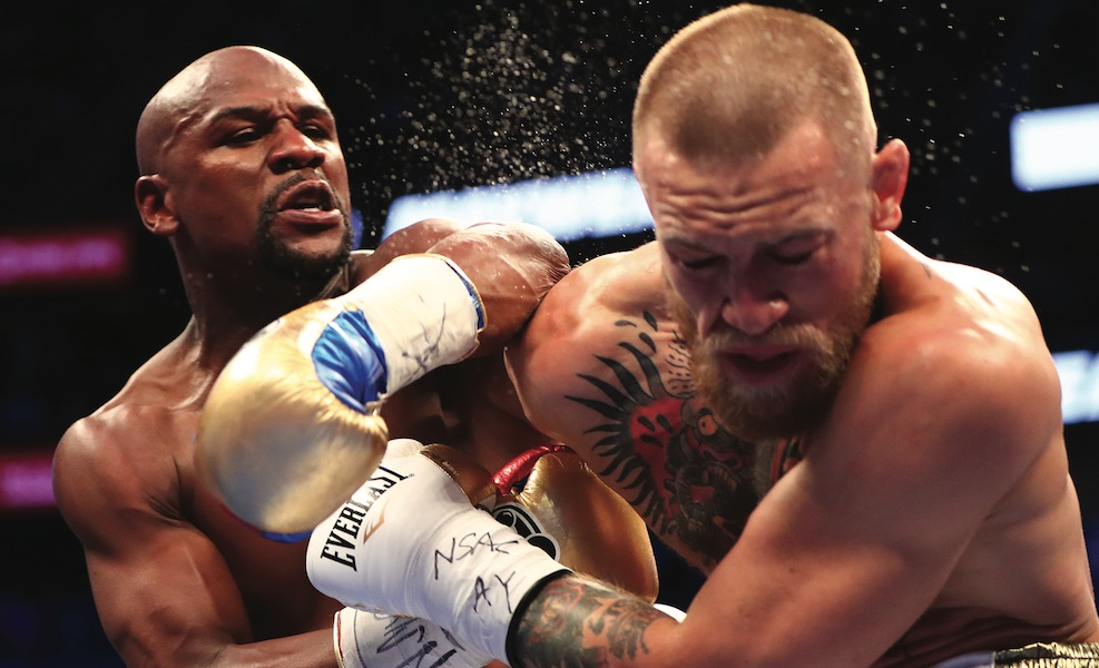 """Mayweather saves bookmakers a """"bloody nose"""""""