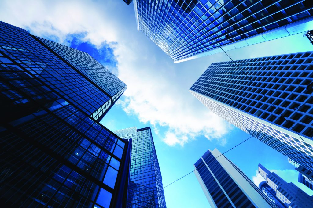 financial city stock market