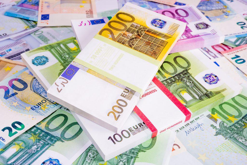 Евро деньги в картинках