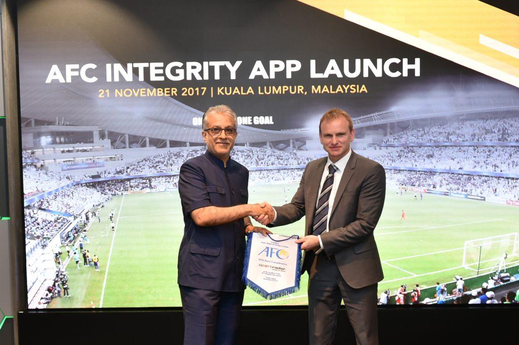 afc sportradar mobile app