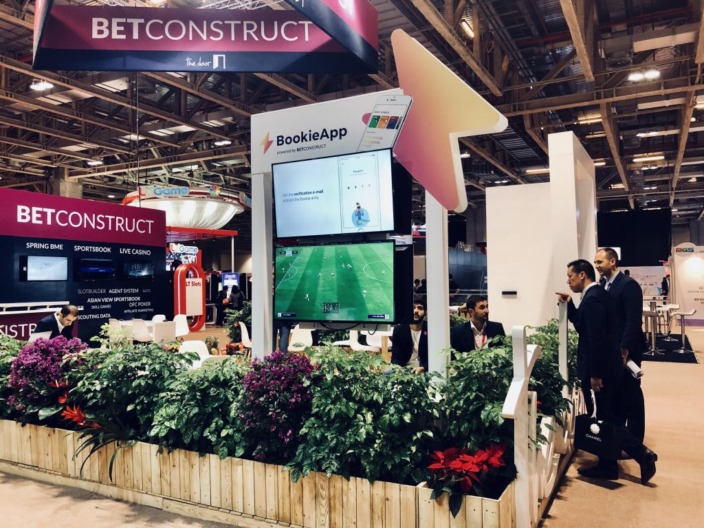 BetConstruct reveals BookieApp at Macau Gaming Show