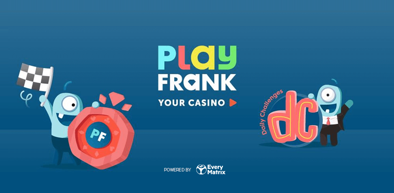 EveryMatrix launches new bonus system with PlayFrank.com