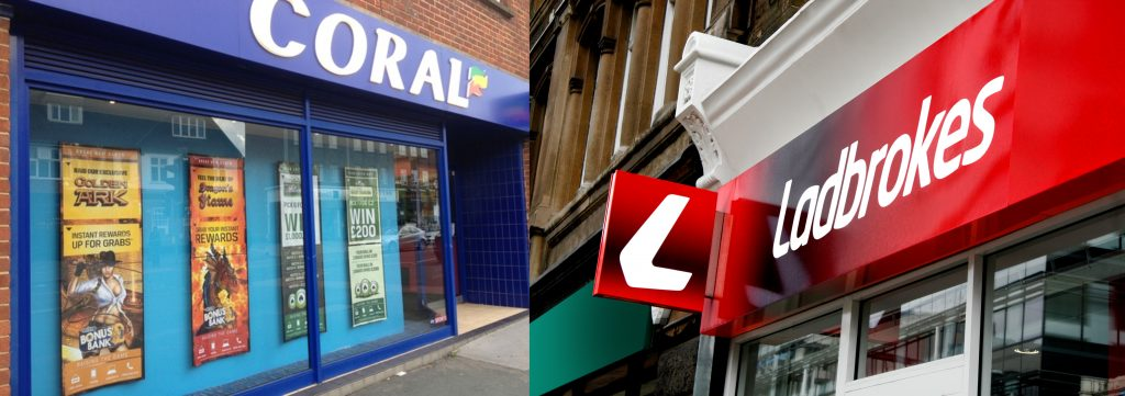 High stakes: GVC to buy Ladbrokes Coral for a potential £4bn