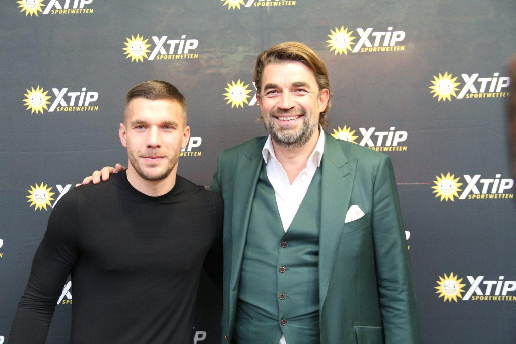 Footballer Lukas Podolski becomes XTiP brand ambassador