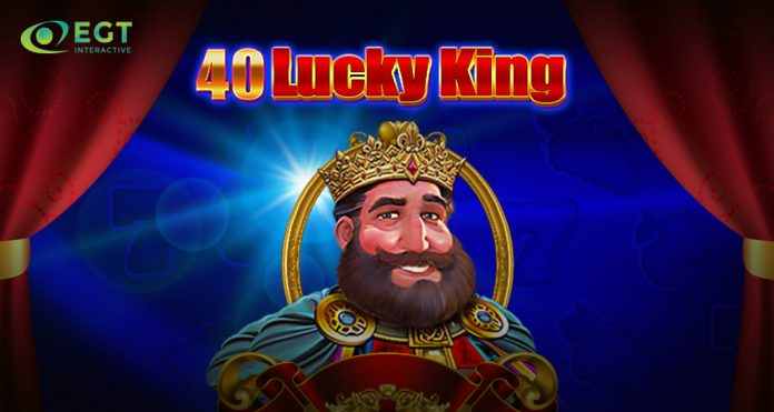 40 lucky king egt interactive