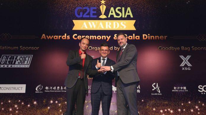 G2E Asia Pin Projekt