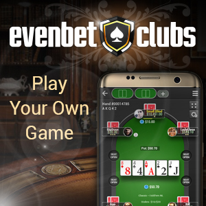 EvenBet Gaming – Play Your Own Game SB