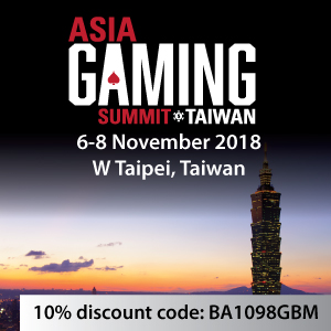 Asia Gaming Summit 2018 SB