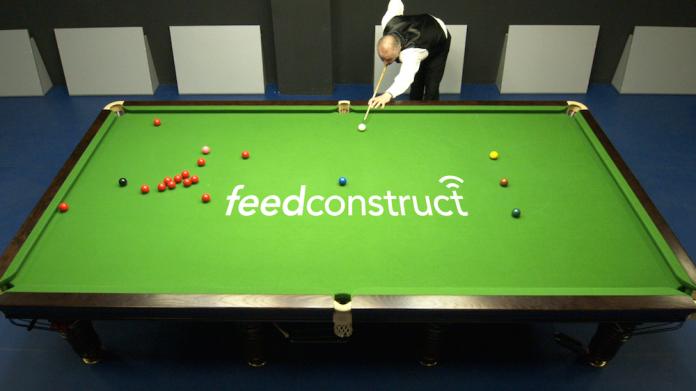 FeedConstruct video streams snooker