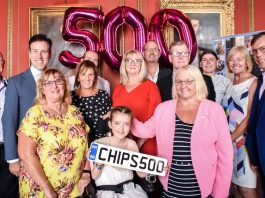 CHIPS charity Anton du Beke 500