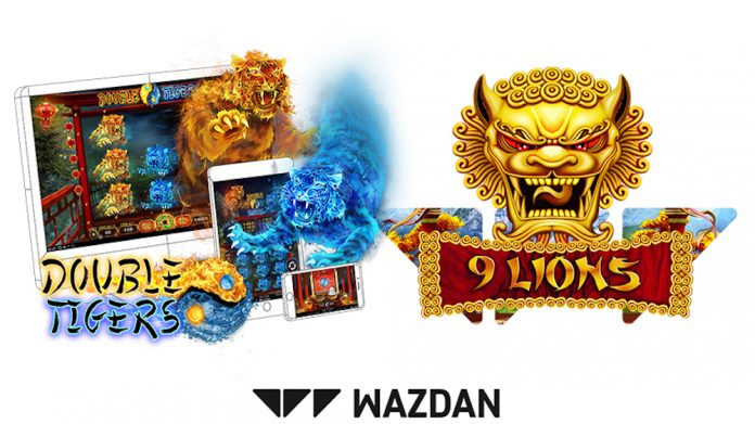 wazdan_launches_9_lions_&_double_tigers