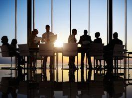 Business meeting, awards