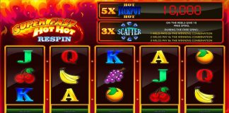 ISOFTBET, SUPER FAST HOT HOT RESPIN, slots, online gaming