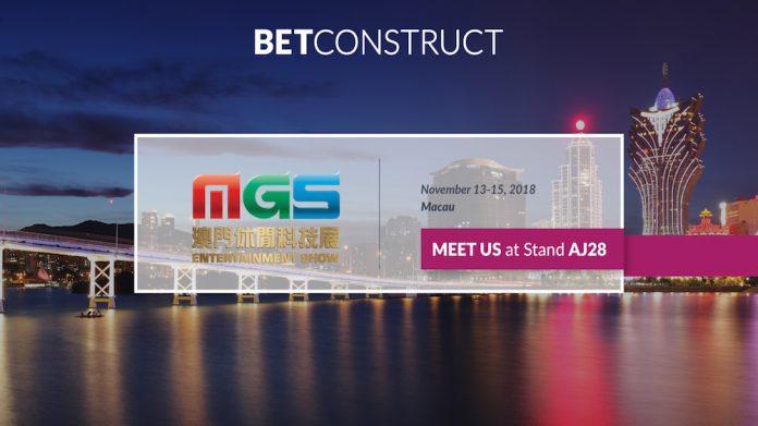 BetConstruct, online casino, sportsbook, Macau Gaming Show