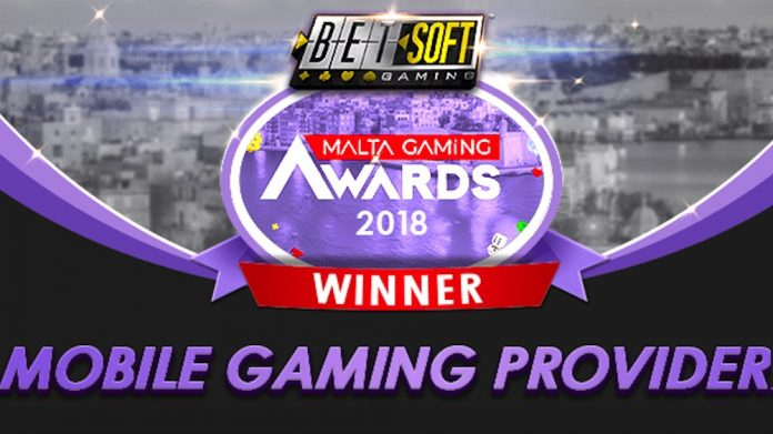 Betsoft Malta gaming awards mobile
