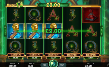 Book of Oz, microgaming