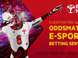 EveryMatrix, OddsMatrix, e-Sports Betting Services, ICE 2019
