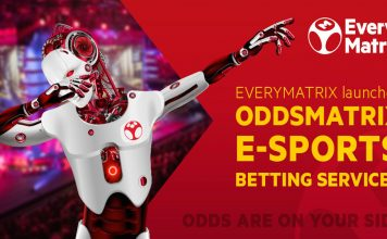 EveryMatrix, OddsMatrix, e-Sports Betting Services, ICE 2019