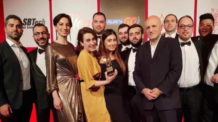 BetConstruct, Technology Provider of the year, iGA, awards