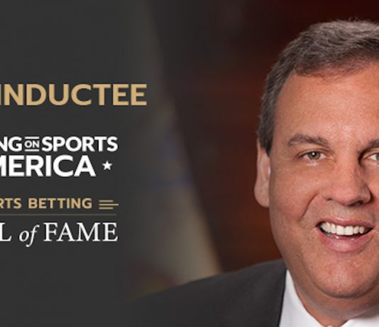 Governor Chris Christie, Sports Betting Hall of Fame,