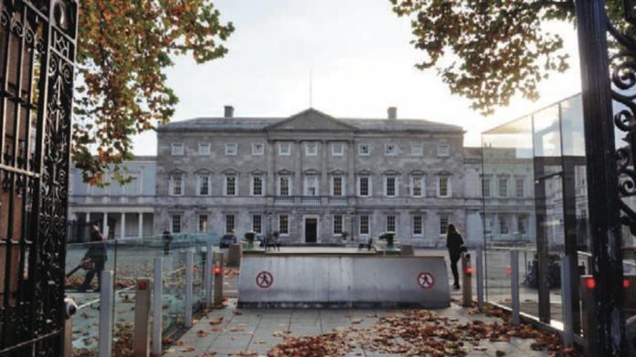 Irish government, legislation, politics, gaming